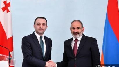 Հայաստանի և Վրաստանի կառավարությունների միջև հաստատվել է արդյունավետ համագործակցություն․ Փաշինյան |armenpress.am|