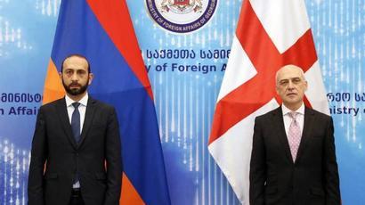 ՀՀ և Վրաստանի ԱԳ նախարարները քննարկել են «Պարսից ծոց-Սև ծով» միջանցք ստեղծելու մասին համաձայնագրին առնչվող հարցեր