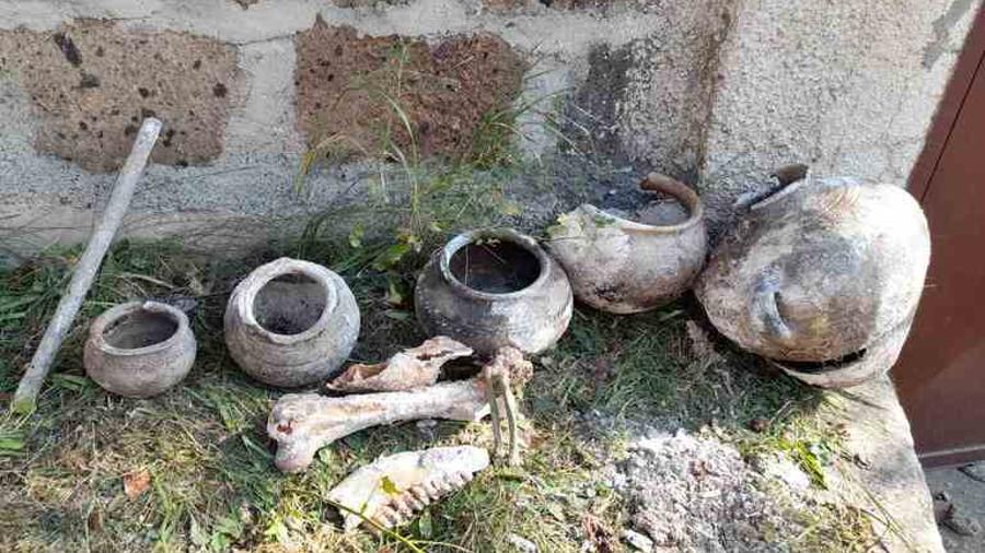Վանաձորում շինարարական աշխատանքների ընթացքում դամբարաններ են հայտնաբերվել․ ԿԳՄՍՆ