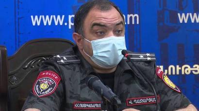 Աշխատանքային խորհրդակցություն ոստիկանությունում. Վահե Ղազարյանը մտահոգություն է հայտնել
