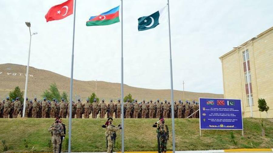 Ադրբեջանում մեկնարկել են այդ երկրի, Թուրքիայի, Պակիստանի համատեղ զորավարժությունները |armenpress.am|