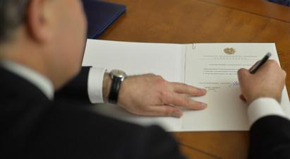 ՀՀ նախագահի հրամանագրով՝ Արմեն Սարգսյանը նշանակվել է Կատարում ՀՀ դեսպան