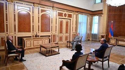President Armen Sarkissian received the Ambassador of Germany on the occasion of completing his diplomatic mission in Armenia