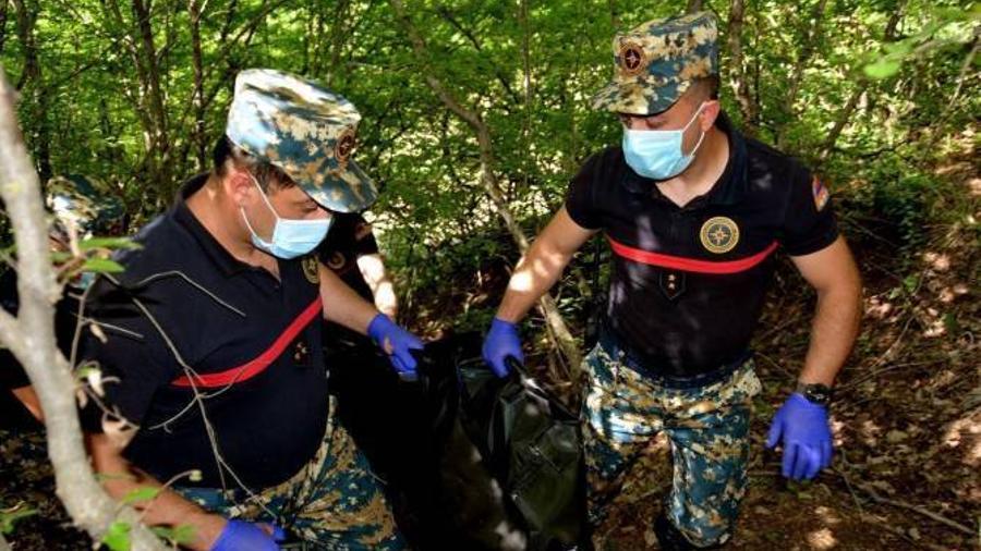 Հադրութի շրջանից հայտնաբերվել է ևս 2 հայ զինծառայողի աճյուն