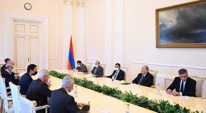 ՀՀ նախագահն ու Իվան Կորչոկը անդրադարձել են Հայաստան-Եվրամիության համագործակցության զարգացման հեռանկարներին