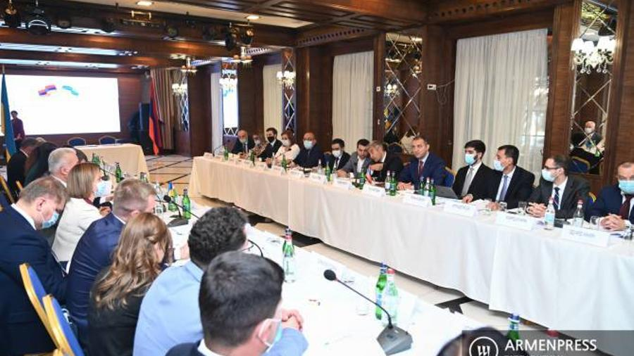 Ուկրաինան ի դեմս Հայաստանի տեսնում է կարևոր գործընկերոջ. տեղի ունեցավ հայ- ուկրաինական միջկառավարական հանձնաժողովի 8-րդ նիստը