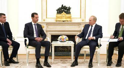 Պուտինն ու Ասադը հանդիպում են ունեցել Մոսկվայում. ՌԴ նախագահն անդրադարձել է Սիրիայի գլխավոր խնդրին և երկրում կայացած ընտրություններին |tert.am|
