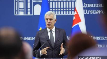 Սլովակիան սատարում է ԵԱՀԿ Մինսկի խմբի համանախագահների ջանքերը. Իվան Կորչոկ |armenpress.am|