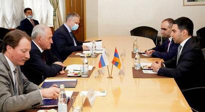 ՀՀ ՊԵԿ նախագահ Բադասյանը Ռուսաստանում քննարկել է մաքսային ոլորտում երկկողմ և ԵԱՏՄ շրջանակում համագործակցության հարցեր