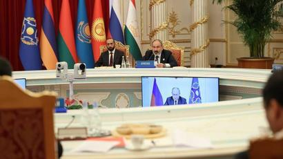 The potential of CSTO collective forces needs to be modernized, supplemented with unmanned formations: The Prime Minister takes part in the sitting of the CSTO Collective Security Council in Dushanbe