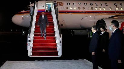 PM Pashinyan arrives in Tajikistan on a working visit