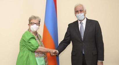 Վահագն Խաչատուրյանն ընդունել է ՀՀ-ում ԵՄ պատվիրակության ղեկավար Անդրեա Վիկտորինին