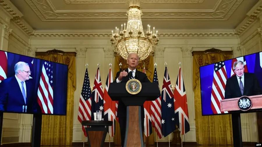 ԱՄՆ, Մեծ Բրիտանիան և Ավստրալիան նոր ռազմական համաձայնագիր են կնքել |azatutyun.am|