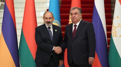 Nikol Pashinyan, Emomali Rahmon meеt in Dushanbe