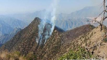 «Արևիկ» ազգային պարկում հրդեհաշիջումը դադարեցվել է. այրվել է մոտ 60 հա բուսածածկույթ