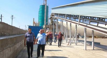 Արցախի նախագահ Հարությունյանն այցելել է Ասկերանի ցեմենտի նորաբաց գործարան