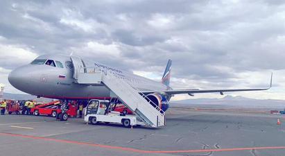 Մեկնարկել են Aeroflot ավիաընկերության Մոսկվա-Գյումրի-Մոսկվա երթուղով չվերթները