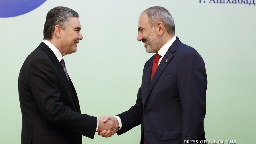 Թուրքմենստանի նախագահը շնորհավորել է Հայաստանի Հանրապետության անկախության 30-ամյակի առթիվ