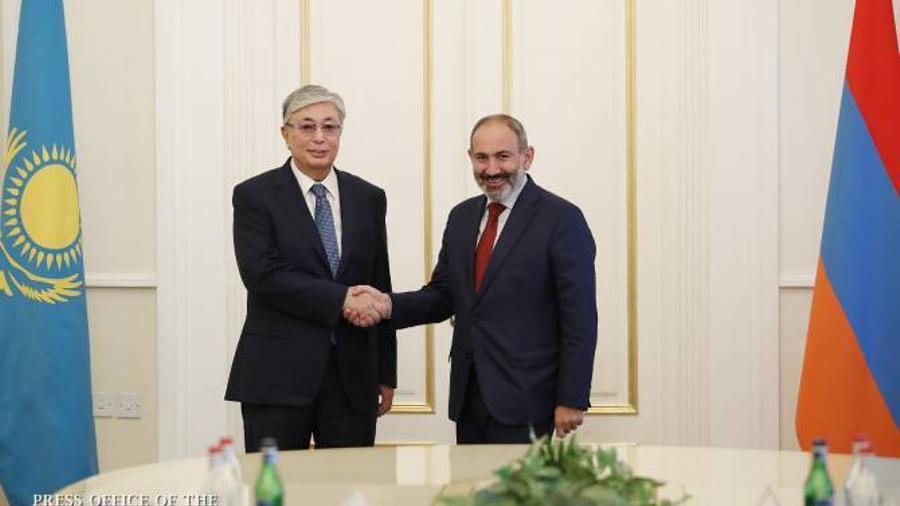 Վարչապետին Անկախության օրվա առթիվ շնորհավորական ուղերձ է հղել Ղազախստանի նախագահը