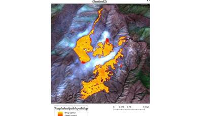 «Արևիկ» ազգային պարկում բռնկված հրդեհի արդյունքում այրվել է մոտ 423 հա տարածք