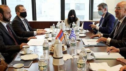 The Ministers of Foreign Affairs of Armenia and Greece exchanged views regarding a number of urgent issues of the regional and international agenda