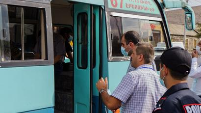 ՀՀ ՔՏՀԱ տեսչական մարմինը Մալաթիա-Սեբաստիայի հանրային տրանսպորտում 16 խախտում է հայտնաբերել