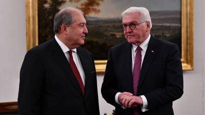 Գերմանիան այսուհետ էլ ամուր կկանգնի Հայաստանի կողքին. Ֆրանկ-Վալտեր Շթայնմայեր