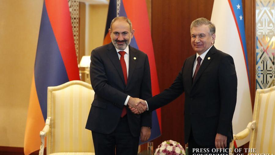 Նիկոլ Փաշինյանին Անկախության օրվա առթիվ շնորհավորական ուղերձ է հղել Ուզբեկստանի նախագահը