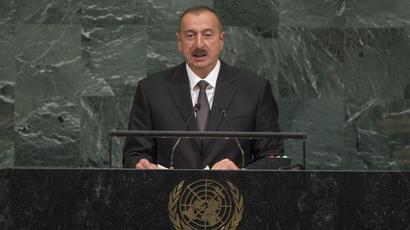 Ադրբեջանը պատրաստ է Հայաստանի հետ խաղաղ պայմանագրի շուրջ բանակցություններ սկսել, սակայն Հայաստանի կողմից դրական արձագանք չենք տեսնում. Ալիևի ելույթը ՄԱԿ-ի ԳՎ-ում |tert.am|