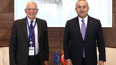 Թուրքիայի արտգործնախարարն ԱՄՆ-ում հանդիպել է Ժոզեֆ Բորելի հետ  armenpress.am 