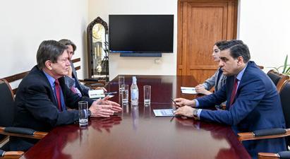 ՄԻՊ-ը ՀՀ-ում ԱՄՆ նախկին դեսպանին է ներկայացրել ադրբեջանցի զինծառայողների կողմից սահմանային բնակիչների իրավունքների խախտման փաստերը