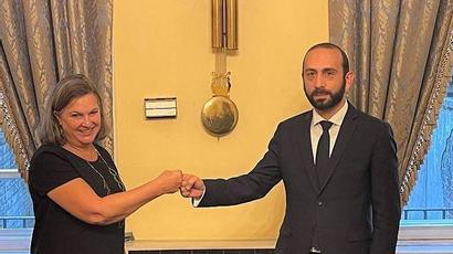 Միրզոյանը Նուլանդի հետ հանդիպմանը բարձր է գնահատել ԱՄՆ դիրքորոշումը ԼՂ խնդրի կարգավորման հարցում