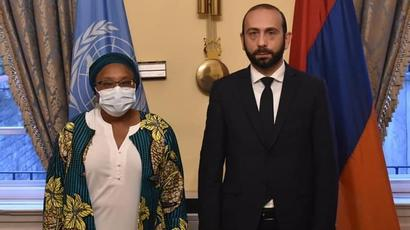 Արարատ Միրզոյանը հանդիպել է Ցեղասպանության կանխարգելման հարցերով ՄԱԿ գլխավոր քարտուղարի հատուկ խորհրդականի հետ