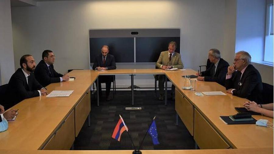 Միրզոյանի և Բոռելի հանդիպմանը շեշտվել է ՄԽ համանախագահության շրջանակներում ԼՂ հակամարտության խաղաղ կարգավորման գործընթացի վերսկսման անհրաժեշտությունը