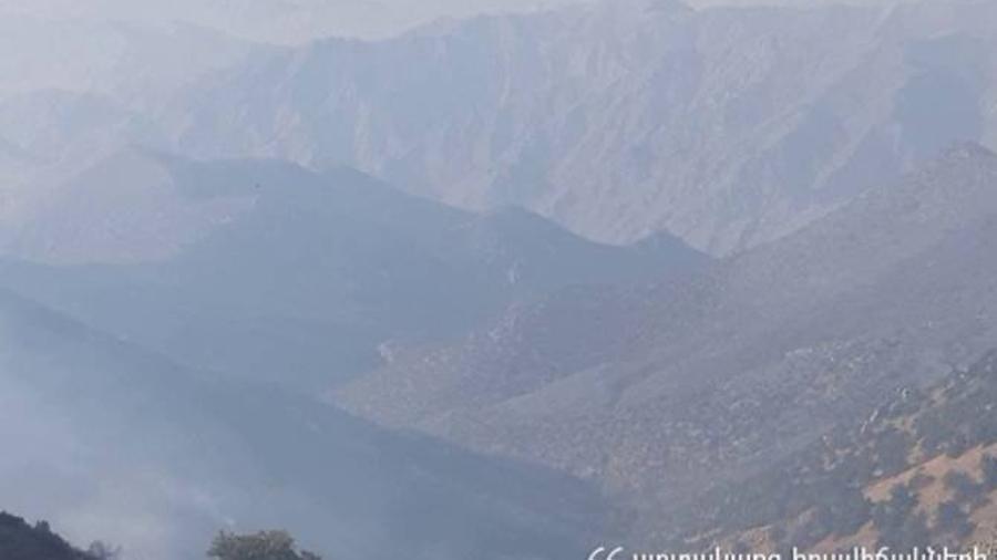 «Արևիք» ազգային պարկի տարածքում հրդեհաշիջման աշխատանքները վերսկսվել են