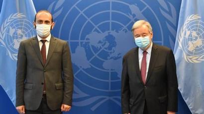 ՀՀ ԱԳ նախարարը ու ՄԱԿ-ի գլխավոր քարտուղարը մտքեր են փոխանակել տարածաշրջանային անվտանգության հարցերի շուրջ