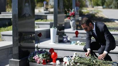 Հայկ Մարությանը Եռաբլուրում հարգանքի տուրք է մատուցել զոհված հերոսների հիշատակին