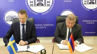 Հայաստանն ու Շվեդիան կհամագործակցեն դատաիրավական ոլորտում