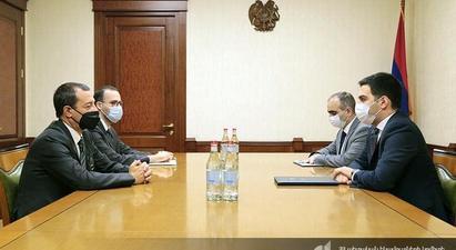 ՊԵԿ նախագահ Ռուստամ Բադասյանն ընդունել է ՀՀ-ում Իտալիայի արտակարգ և լիազոր դեսպանին