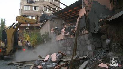 Սեպտեմբերի 28-ին ապօրինի կառույցներ են ապամոնտաժվել Նոր-Նորք վարչական շրջանում