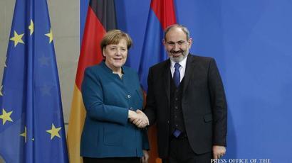 Հայ-գերմանական հարաբերություններում էական առաջընթաց է գրանցվել. Փաշինյանը շնորհավորել է Մերկելին Ազգային տոնի առթիվ