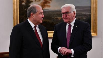 Կարևորում եմ ՀՀ-ԳԴՀ փոխշահավետ համագործակցության ամրապնդման ջանքերը. ՀՀ նախագահը շնորհավորել է Գերմանիայի նախագահին