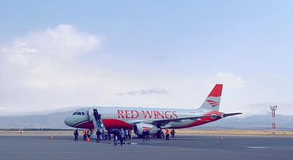 Մեկնարկել են Red Wings ավիաընկերության Մոսկվա-Գյումրի-Մոսկվա չվերթերը