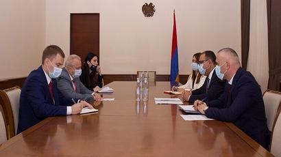 ՀՀ ֆինանսների նախարարը և ՀՀ-ում ՌԴ դեսպանը քննարկել են հայ-ռուսական տնտեսական համագործակցությանն առնչվող հարցեր