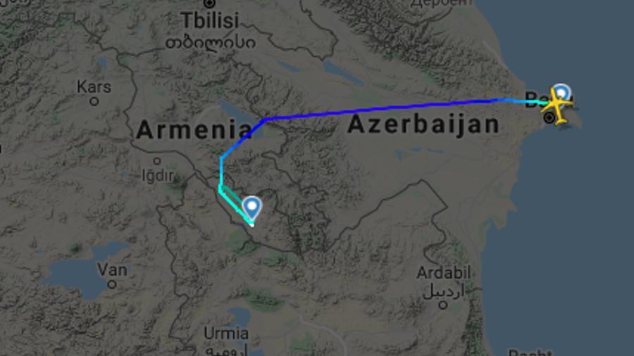 Ադրբեջանական օդանավերի համար Հայաստանի օդային տարածքը փակ չի եղել