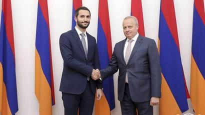 Ռուբեն Ռուբինյանը և Սերգեյ Կոպիրկինը կարեւորել են հայ-ռուսական բարեկամական հարաբերությունների զարգացումը