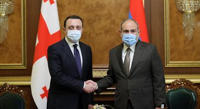 Փաշինյանն ու Ղարիբաշվիլին քննարկել են Հայաստան-Վրաստան համագործակցության օրակարգն ու հեռանկարները, մտքեր փոխանակել տարածաշրջանային իրավիճակի շուրջ