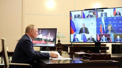 Պուտինն Անվտանգության խորհրդում առաջարկել է քննարկել ԱՊՀ այլ երկրների հետ ՌԴ-ի փոխգործակցությանը վերաբերող հարցեր |armenpress.am|