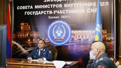 Տեղի է ունեցել ԱՊՀ մասնակից պետությունների ներքին գործերի նախարարների խորհրդի նիստը