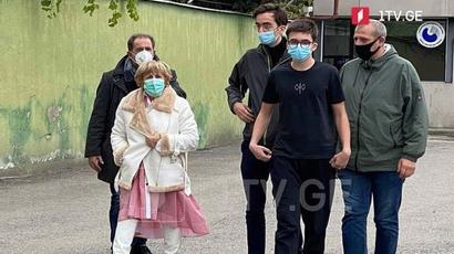 Սաակաշվիլիի մայրն ու երեխաներն այցելել են գործչին բանտում